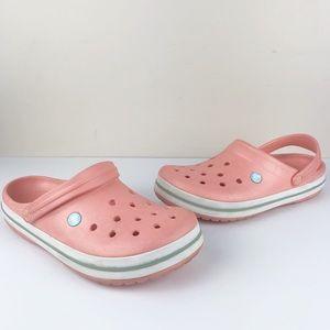 Crocs Classic Light Pink Comfort Slip On Shoes
